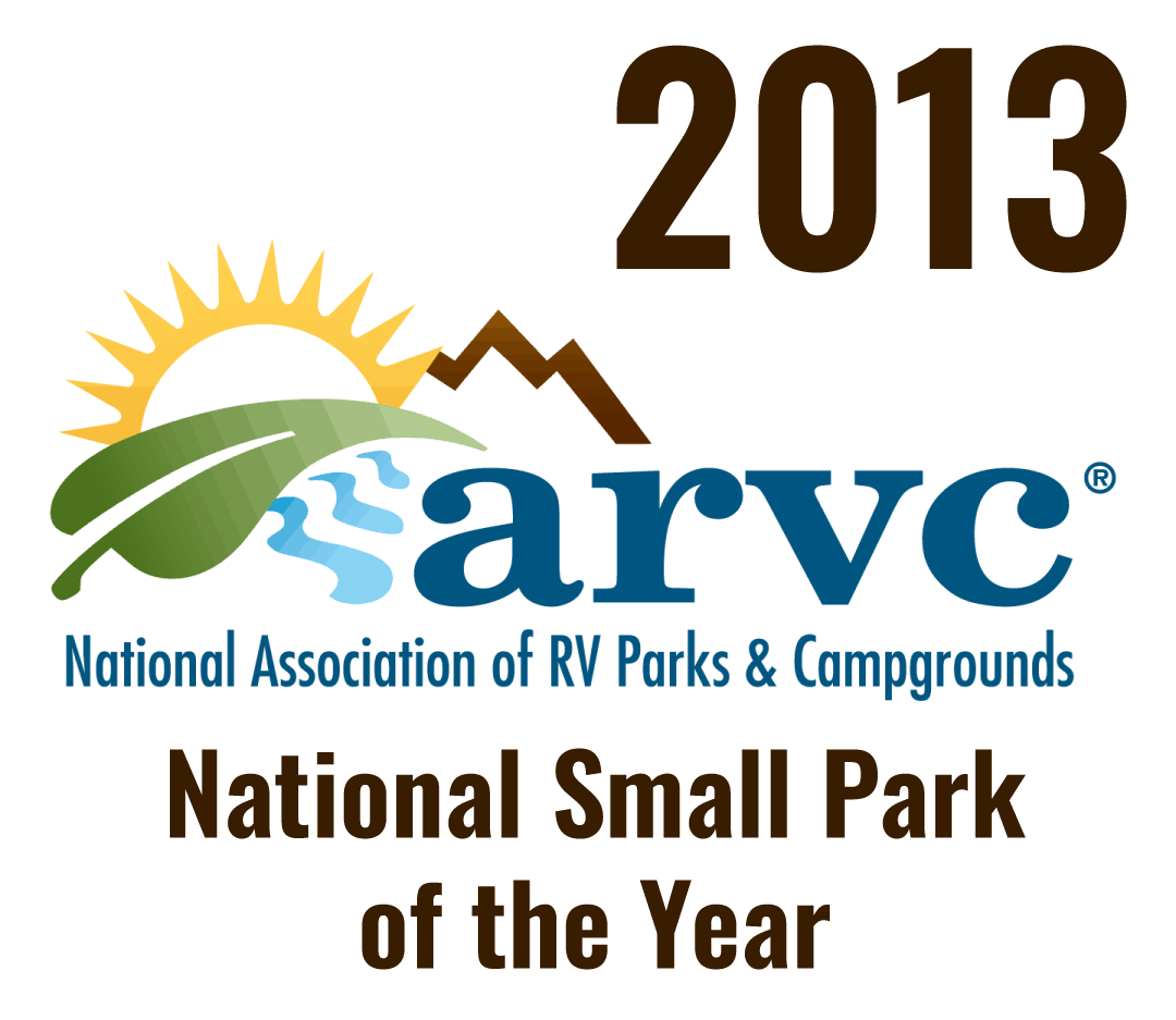 2013 ARVC National Small Park of the Year award
