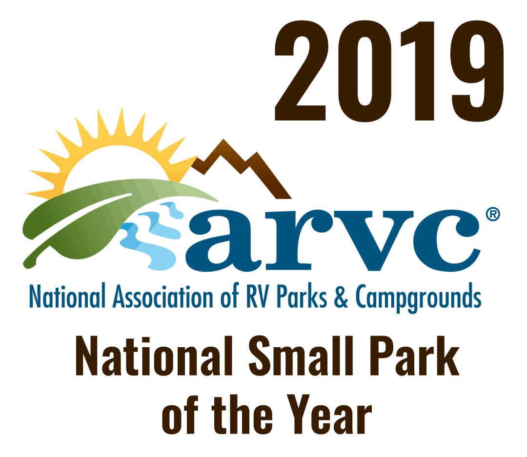 2019 ARVC National Small Park of the Year award