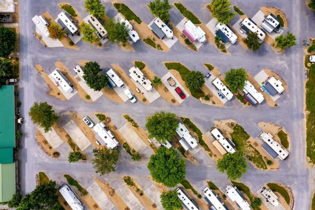 Big Meadow Family Campground picture from the sky