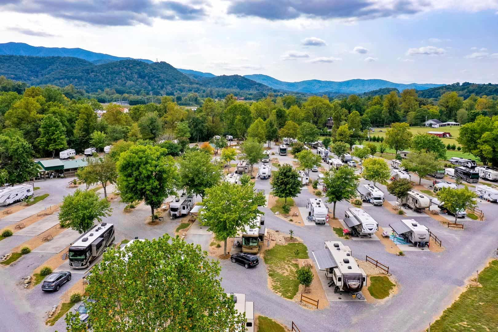 RV storage from the sky