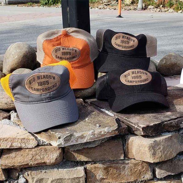 Big Meadow Campground hats